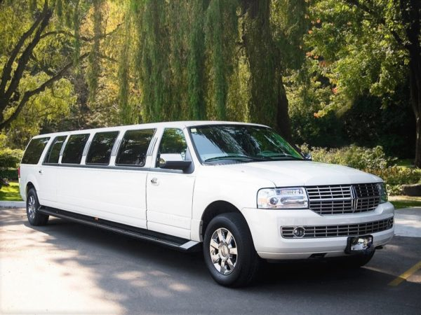 White Lincoln Navigator 3