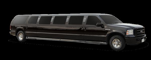Black Ford Excursion SUV 1