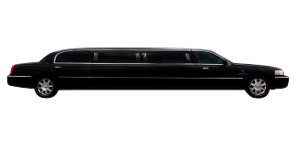 Black Lincoln Town Car Full Stretched Limo 2 1